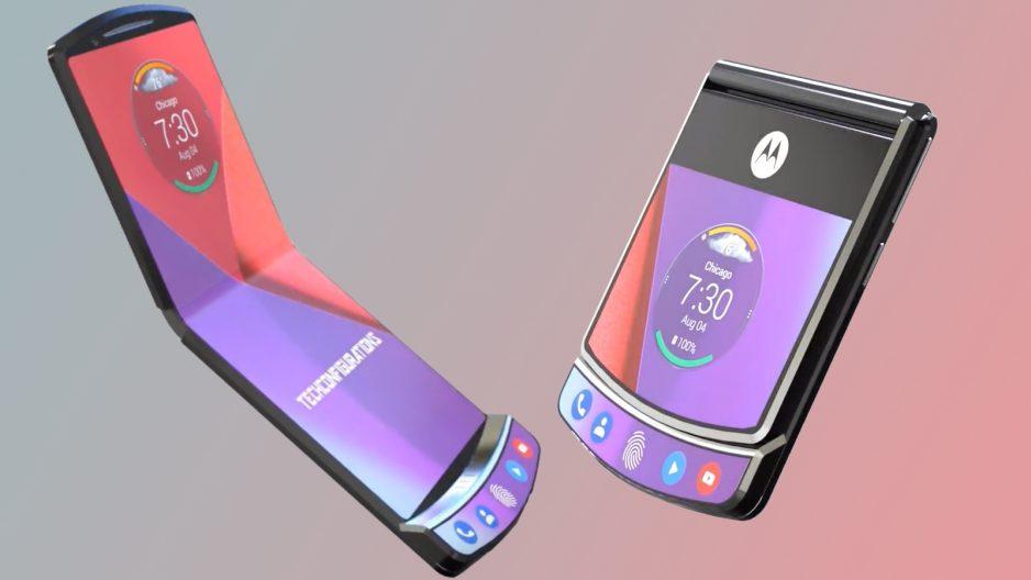 Un smartphone pliable : le Motorola razr bientôt sur le marché